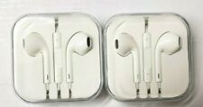 3.5mm Stereo In-Ear Headphone Earbuds Earphone Headset White 2 Sets