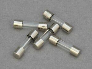 10 X T250ma Slow Blow/Anti Surge Glass Fuse. 20 x 5mm, 250v