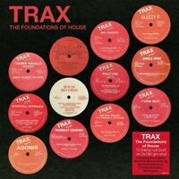 HOUSE MUSIC Various Artists TRAX THE FOUNDATIONS OF HOUSE 2xLP 180 GRAM Remaster