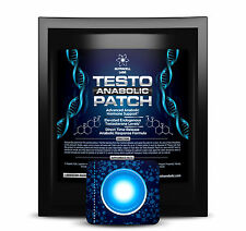 (4) TESTO ANABOLIC PATCHES  - BOOST YOUR TESTOSTERONE WITHOUT STEROIDS!