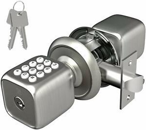 Turbolock TL-111 Digital Lock for Door Keypad Door Knob-Style for Keyless Entry