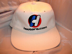 Mens Original HOOTERS Baseball Cap Hat with Vintage Orange and Blue Logo NEW!