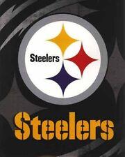 Licensed NFL Pittsburgh Steelers Football Royal Plush Soft King Size Blanket