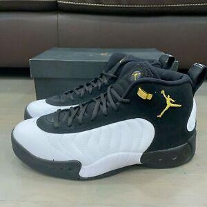 Jordan Jumpman Pro Taxi Black Metallic Gold White 906876-032 Men's Size 18 New