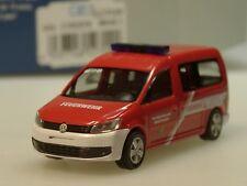 Rietze Volkswagen Caddy Maxi'11 Feuerwehr Niebüll-Deezbüll - 52709 - 1/87