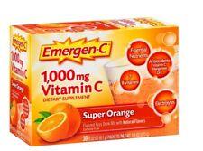 Emergen-C Vitamin C 1000mg Super Orange Flavor Dietary Supplement Powder 30 Pack