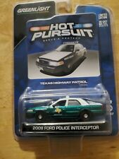 Greenlight Hot Pursuit Texas Highway Patrol 08 Ford Crown Victoria