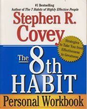 Stephen Covey THE 8TH HABIT PERSONAL WORKBOOK SC Book