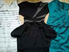 3x Nice Parti ASOS ATMOSPHERE Bundle Femmes Robe Femme Taille 8 V. G. C (0.9)