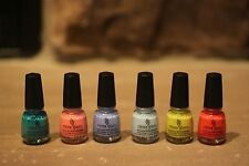 China Glaze Nail Palish Road Trip Travel Sized Mini Set HTF!!!