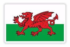 1x pegatina Gales Bandera Reino Unido