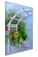 Summer Arbor Gate Canvas Wall Art Prints Deco Pictures Oil Painting Re-Print