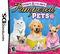 Paws And Claws Pampered Pets For Nintendo DS DSi 3DS 2DS 3E