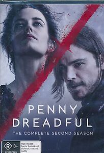 Penny Dreadful The Complete Second Season Two DVD NEW Billie Piper Reeve Carney