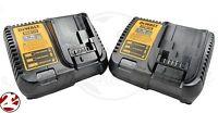 2 New Dewalt DCB115 12V 20V Max Li-ion Battery Charger replaces DCB107 DCB112