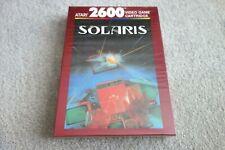 1980's ATARI 2600 PAL GAME - SOLARIS - UNUSED & FACTORY SEALED