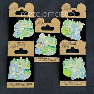 SET WDW - Gold Card Series - The Haunted Mansion - Duelers LE Disney Pin Pins