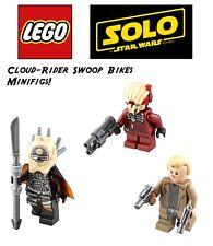 LEGO Star Wars: Solo: Cloud-Rider Swoop Bikes MiniFigs! enfys nest, weazel