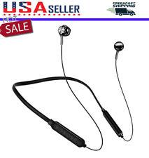 Sweatproof Bluetooth Earbuds Stereo Sport Neckband Wireless Headphones Headset