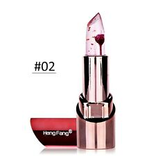 Jelly Flower Color Changing Lipstick Long Lasting Moisturizer Gloss Makeup Cool