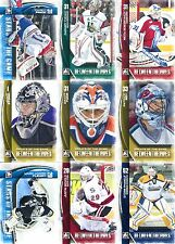 2013-14 ITG between The Pipes juego completo (150 tarjetas) sólo goalies! NHL, CHL