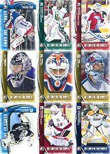 2013-14 ITG Between the Pipes Komplettset (150 Karten) nur Goalies! NHL, CHL