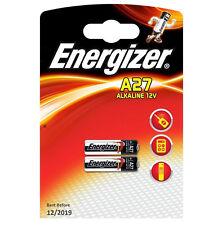 GENUINE ORIGINAL 2X ENERGIZER A27 ALKALINE 12V BATTERY 27A MN27 GP27A E27A EL812