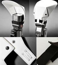 Universal Flash Bounce Reflector Diffuser for Canon Nikon Pentax Sony Flash lamp