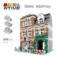 Lego Custom Modular Building *HOSPITAL* INSTRUCTIONS ONLY! instruction