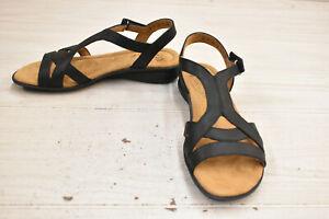 Natural Soul Joslen Sandal -  Women's Size 7 M, Black NEW