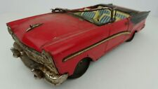Vintage Bandai 1957 Ford Fairlane 500 2 Door Convertible Friction Toy Car Parts