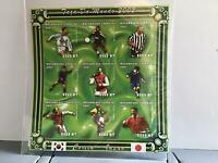 Mozambique 2001 Soccer Players  World Cup 2002  MNH imperf  stamp  sheet R24513