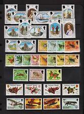 Falkland Islands - 4 mint commemorative sets, cat. $ 31.20