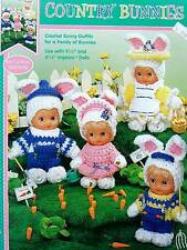 Crochet  Country Bunnies  Patterns  Fibre Craft Great For Easter Baskets