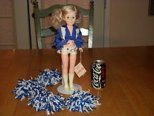 "Shannon Baker [ NFL] Dallas Cowboys Cheerleader 15"" Tall Doll & Stand, 1982 yr."