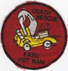 USN FASU Fleet Air Support Unit Crash Fire Rescue Vietnam Patch #7