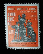 1966  GIORNATA MONDIALE DEI LEBBROSI   20 lire  mnh**