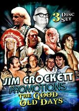 JIM CROCKETT PROMOTIONS - THE GOOD OLD DAYS DVD WCW NWA Wrestling Mid Atlantic