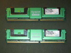 Apacer FB-DIMM 8gb (2 x 4gb) FBD PC2-5300 Fully Buffered Server RAM