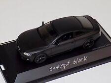 1/43 Schuco Audi A5 Coupe Concept black 450485500