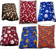 Large Dog Pet Bed Pillow MEMORY FOAM Cushion Removable Washable Zipped Cover