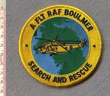 ROYAL AIR FORCE BOULMER SEARCH & RESCUE PATCH.