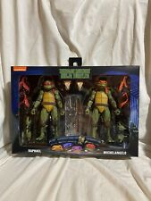 NECA TMNT 2 Pack Raphael & Michelangelo Walmart Exclusive. In Hand Ready To Ship