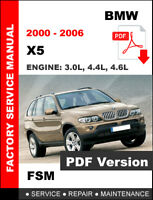 bmw x5 e53 workshop manual