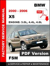 BMW X5 2000 - 2006 E53 WORKSHOP OEM SERVICE REPAIR FACTORY MANUAL