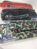 NEW CHAMPION Prime Logo Camo Black Red Sling Shoulder Waist Fanny Pack Bag