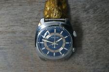 Vintage USSR handsome Wristwatch POLJOT Mechanical Alarm COMBINE SHIPPING X126