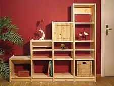 Regalsystem, Kiefer massiv, neu, 155/50x172,5x35 cm und mehr im Shop !