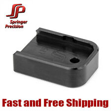 "Springer Precision Magazine Base Pad/Floor Plate +.25""Extension for Glock 9mm/40"