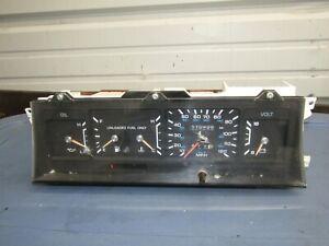 1990-1993 Dodge Dynasty OEM instrument cluster (<111k miles, cracks) 91 92